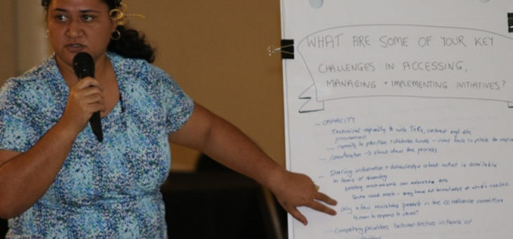 Samoa climate change finance stakeholders discuss way forward