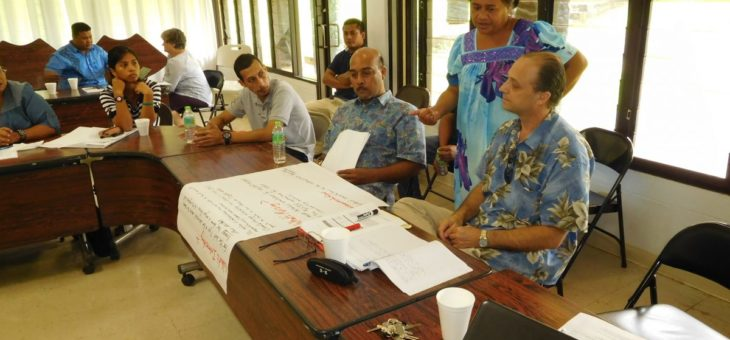 Federated States of Micronesia strengthens efforts to access and manage climate change and disaster risk finance
