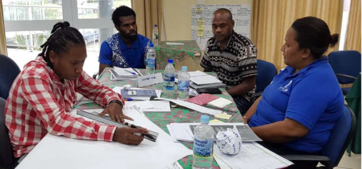 First M & E for Climate Resilience Training completed in Vanuatu