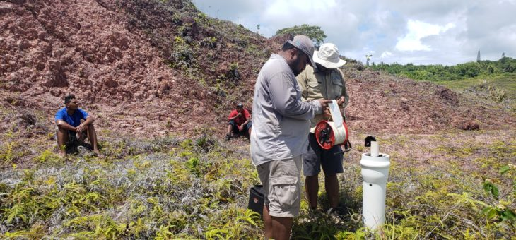 Assisting Yap State manage water supply through the current drought